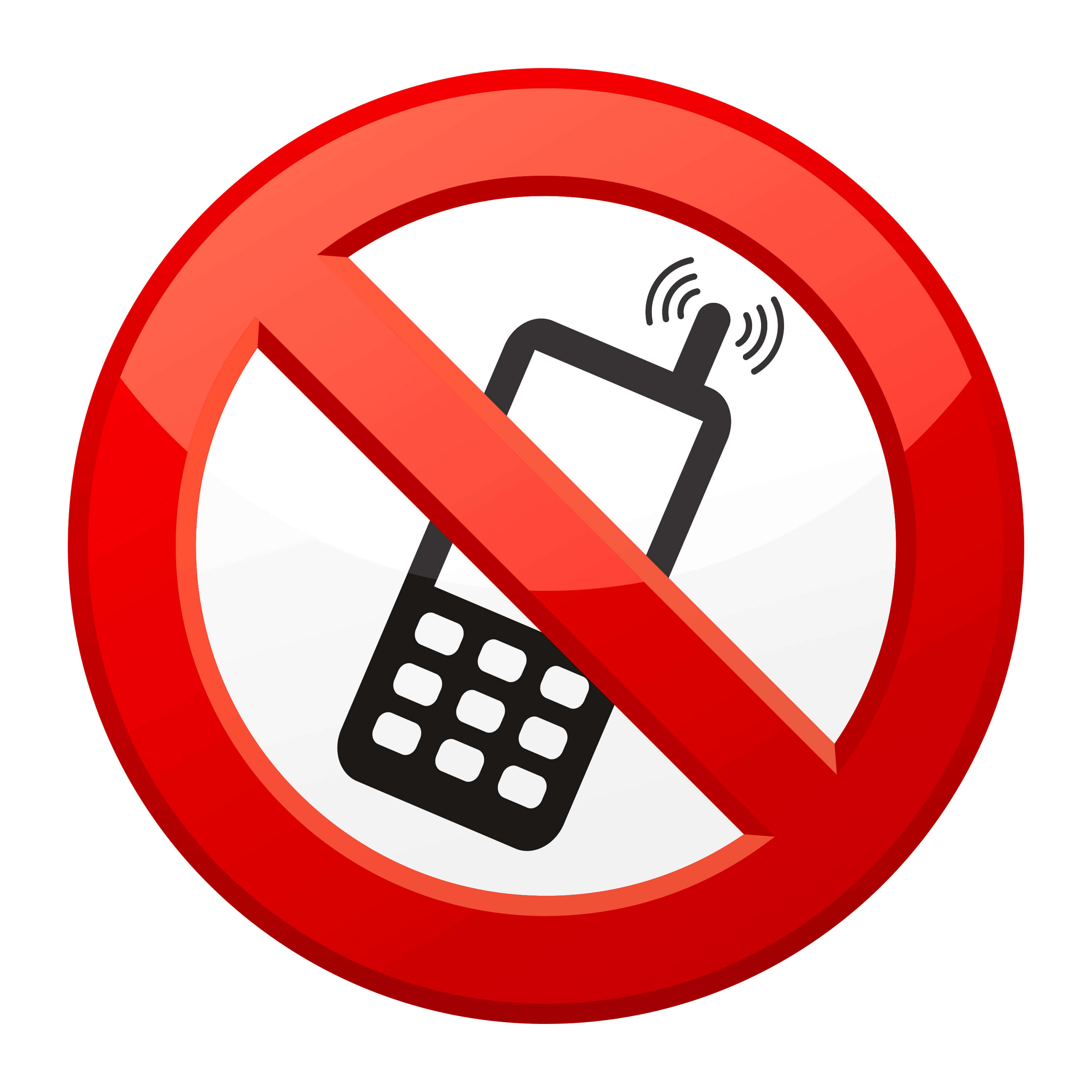 At cell phone - call block on cell phone
